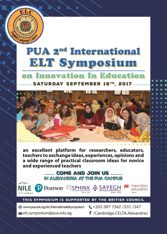 2nd International ELT Symposium