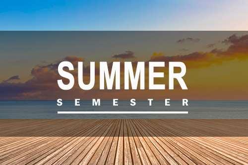 Summer Semester