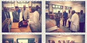 Prof. Hani Kahil Paid a Visit to PUA