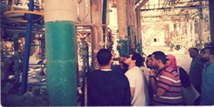 رحلة علمية لشركة البتروكيماويات المصرية