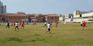 A Friendly Match between PUA&Ragab Institute Teams