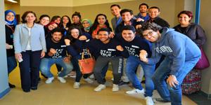 ندوة تعريفية عن المنظمة المصرية للتبادل الطلابي الدولي