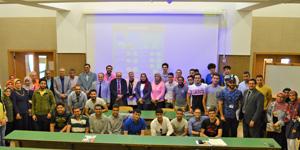 يوم التوعية للطلاب الجدد بقسم هندسة البتروكيماويات