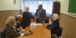توقيع بروتوكول تعاون بين جامعة فاروس و مدرسة الزهراء الدولية