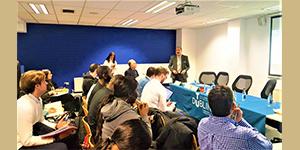 """الملتقى السنوي الخامس عشر بجامعة دبلن للتكنولوجيا بإيرلندا تحت عنوان """"كيفية إدارة ولاء العملاء واستراتيجيات الحفاظ عليهم في مجال إدارة التجزئة"""""""