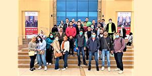 قسم تكنولوجيا الأجهزة الطبية يشارك في حضور مبادرة مصر تصنع الالكترونيات