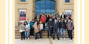 رحلة علمية لواحة السيلكون بمجمع برج العرب للإبداع