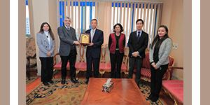 جامعة فاروس تستقبل مدير مؤسسة اليابان بالقاهرة
