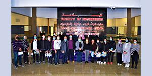 زيارة وفد من طلاب المدرسة المصرية الحديثة لكلية الهندسة